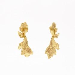 Boucles d'Oreilles Vine Leaf