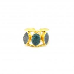 Naxos Labradorite Ring