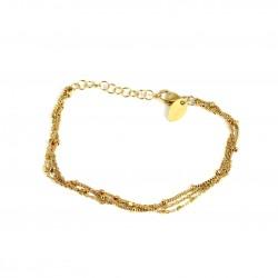 3 Chain Bracelet