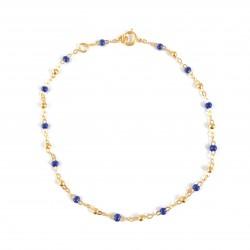 Bracelet Or Resy Bleu