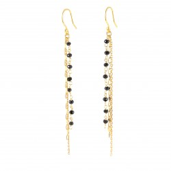 Adena Black Earrings
